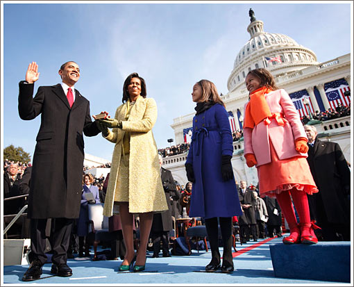 Historic Obama Swearing-In