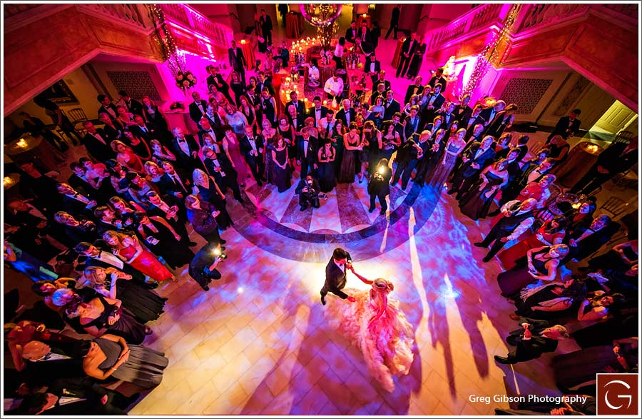 images of the day � another first dance vantage point at